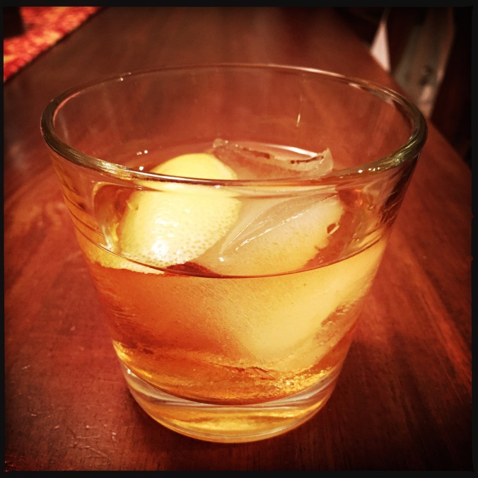 An impromptu Old Fashioned